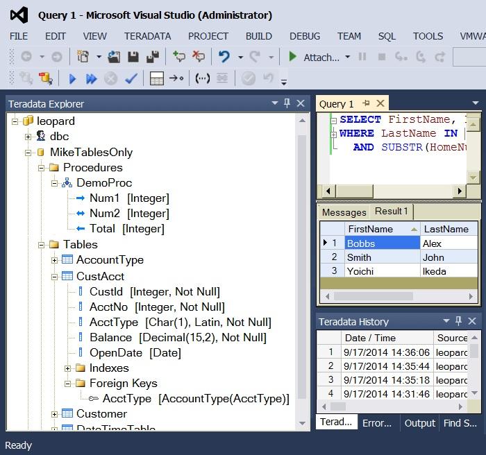 Teradata Developer Tools - Visual Studio Marketplace